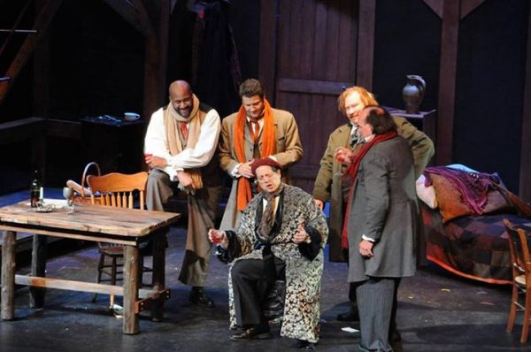 Carl Ratner performs the role of Benoit for Harbor Country Opera (2013)