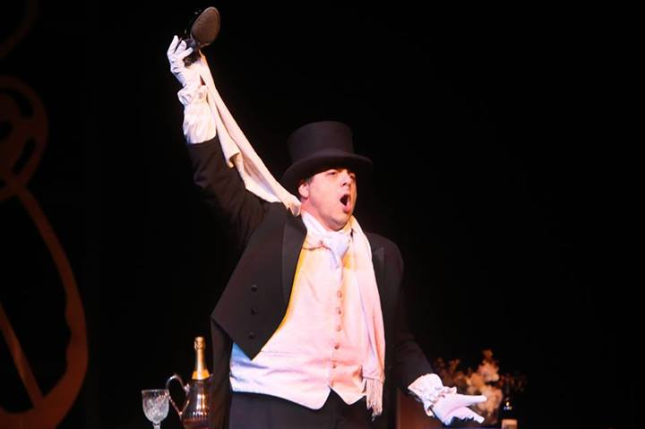 Carl Ratner performs the role of Alcindoro for Harbor Country Opera (2013)