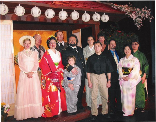 Cast of Oak Park Madame Butterfly, Village Player's Theatre 2007
